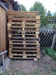 Brennholz Holz Paletten