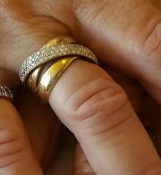 Brillant , Ring ... VERLOREN