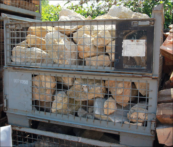 Bruchsteine in gitterbox sonstiges f r den garten for Garten bruchsteine