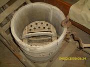 Butterschleuder, antike, Original