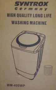Camping- / Mini-) Waschmaschine (