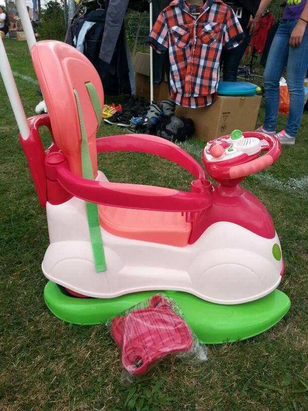 chicco rutschauto in rosa in viernheim kinderfahrzeuge kaufen und verkaufen ber private. Black Bedroom Furniture Sets. Home Design Ideas