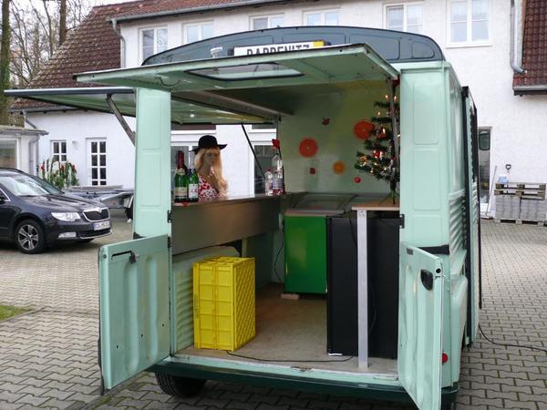 voiture citroen hy foodtruck verkaufswagen event oldtimer occasion de 1963 pour 28000. Black Bedroom Furniture Sets. Home Design Ideas