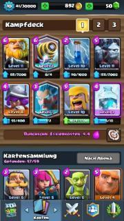 clash royal lvl10 (