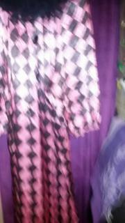 clown kostüm rosa/
