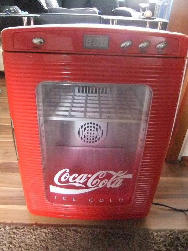 coca cola k hlschrank minibar in herxheim k hl und gefrierschr nke kaufen und verkaufen ber. Black Bedroom Furniture Sets. Home Design Ideas