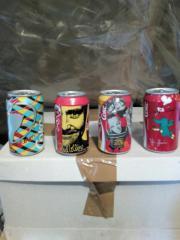 Cola Dosen Sammlung