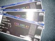 Coldplay - 3x Eintrittskarten -