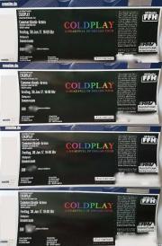 Coldplay Tickets Frankfurt /