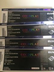 Coldplay Tickets Gelsenkirchen