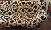 Couch schwarz/weiß