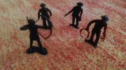 Cowboys Indianer Figuren