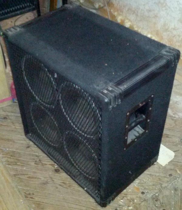 Crate Be410 Be 410 Speaker Cabinet Vinyl Amp Cover P N