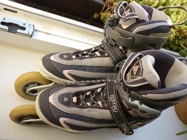 skaten rollen damen inliner skates gr 38 k2 vo2 t nine. Black Bedroom Furniture Sets. Home Design Ideas