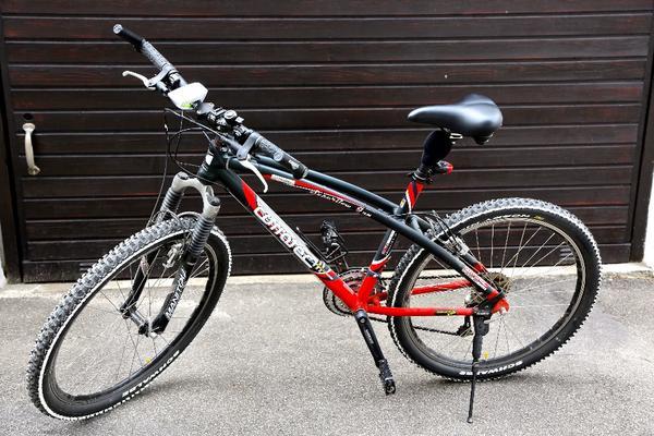 verkaufe damen mountainbike corratec superbow mtb. Black Bedroom Furniture Sets. Home Design Ideas