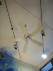 Deckenventilator Ventilator Weiß