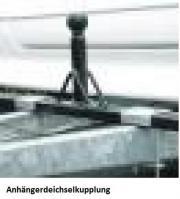 Deichselanhängerkupplung, Aufnahme für