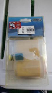 Delonghi Kalkfilterpatrone für PRO / VVX 2000, 2100, 2200 Delonghi Kalkfilterpatrone für PRO/VVX 2000, 2100, 2200 OPV weist leichte Beschädigungen auf. Die Ware ist in guten Zustand. Privatverkauf, keine ... 6,- D-91074Herzogenaurach Heute, 14:07 Uhr, Her - Delonghi Kalkfilterpatrone für PRO / VVX 2000, 2100, 2200 Delonghi Kalkfilterpatrone für PRO/VVX 2000, 2100, 2200 OPV weist leichte Beschädigungen auf. Die Ware ist in guten Zustand. Privatverkauf, keine