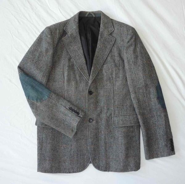 denim sakko tweed salz pfeffer blazer jacke herren gr xl. Black Bedroom Furniture Sets. Home Design Ideas