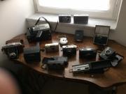 diverse Fotoapparate - Sammlerstücke -