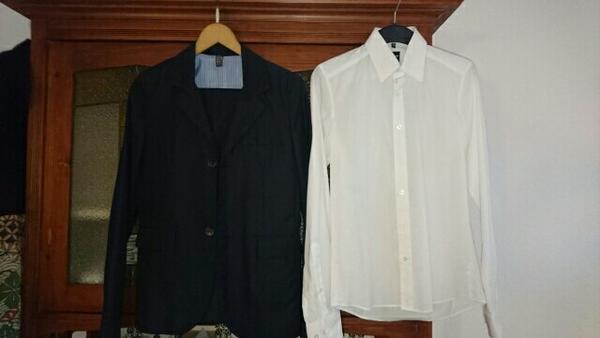 dunkelblauer Konfirmationsanzug Größe 164 mit weißem Hemd gebraucht kaufen  76189 Karlsruhe