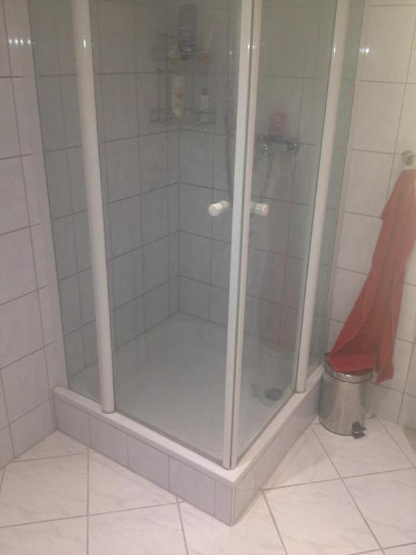 duschkabine von geo in hanhofen bad einrichtung und ger te kaufen und verkaufen ber private. Black Bedroom Furniture Sets. Home Design Ideas