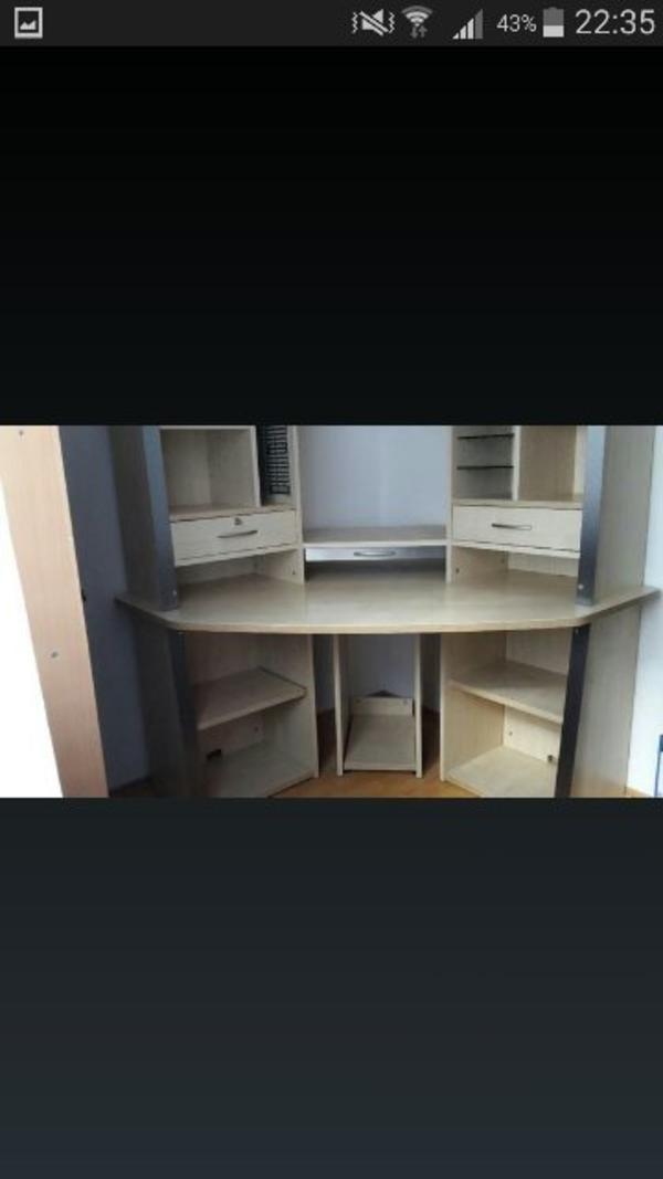eck schreibtich computertisch zu verkaufen in heilbronn b rom bel kaufen und verkaufen ber. Black Bedroom Furniture Sets. Home Design Ideas