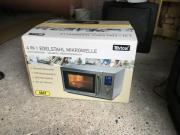 Edelstahl Mikrowelle 900