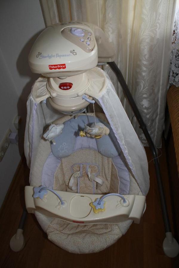 elektrische babyschaukel fisher price papasan in. Black Bedroom Furniture Sets. Home Design Ideas