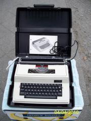 elektrische Schreibmaschine für