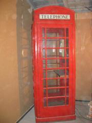 englische Telefonzelle (Red