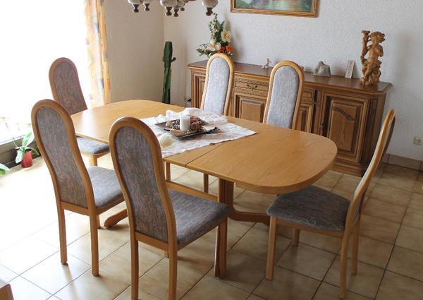 esstisch von h lsta zum ausziehen in heiligenstadt speisezimmer essecken kaufen und verkaufen. Black Bedroom Furniture Sets. Home Design Ideas