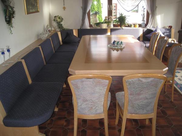 esszimmertisch eckbank mit tisch rundecke festtisch in wellendingen speisezimmer essecken. Black Bedroom Furniture Sets. Home Design Ideas
