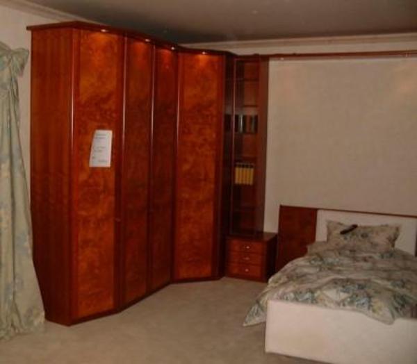 exklusives Schlafzimmer in Kirschbaum/Pappelmaser aus Möbelhaus ...