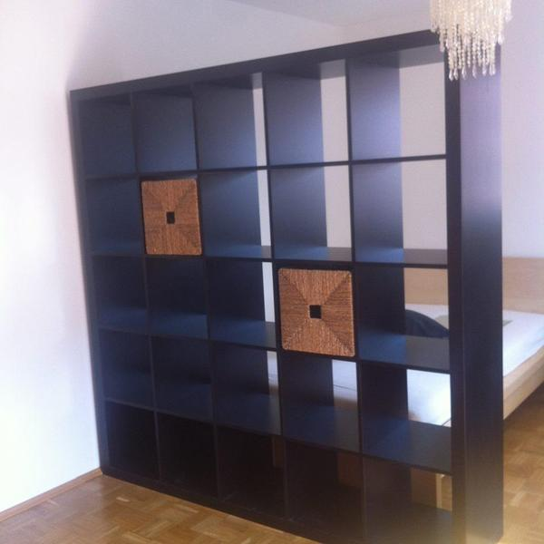 expedit ikea regal 1 85x1 85 dunkelbraun in freising ikea m bel kaufen und verkaufen ber. Black Bedroom Furniture Sets. Home Design Ideas