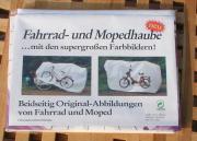 Fahrrad- und Mopedhaube -