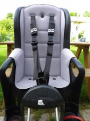 bobike fahrradsitz mini f r lenker mit extras neuwertig. Black Bedroom Furniture Sets. Home Design Ideas