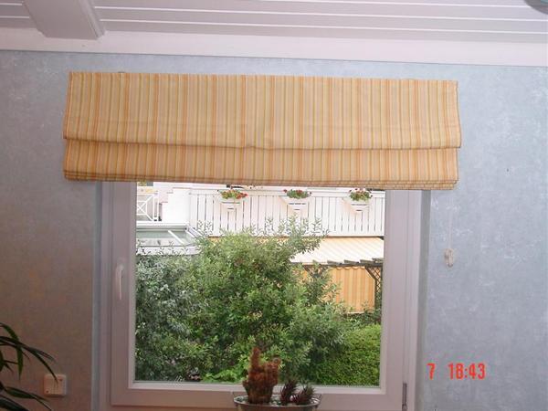 faltrollo vorhang gerafft 140 cm breit in feucht gardinen jalousien kaufen und verkaufen. Black Bedroom Furniture Sets. Home Design Ideas