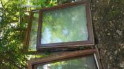 Fenster und Holz