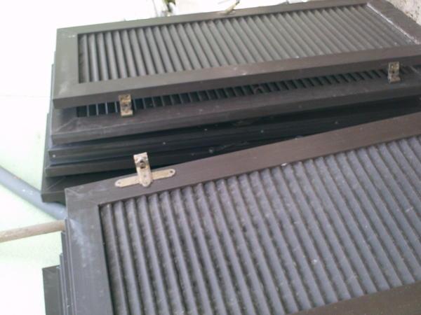 Fenster roll den markisen fensterl den braun kunststoff for Fenster zu verschenken