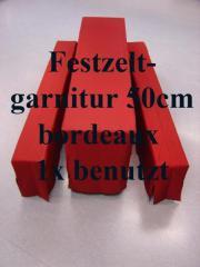 Festzeltgarniturhusse Set 50cm