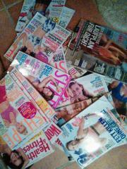 Fitness-Zeitschriften...Womens