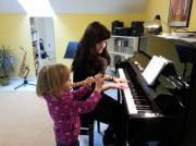 Flötenunterricht, Klavierunterricht
