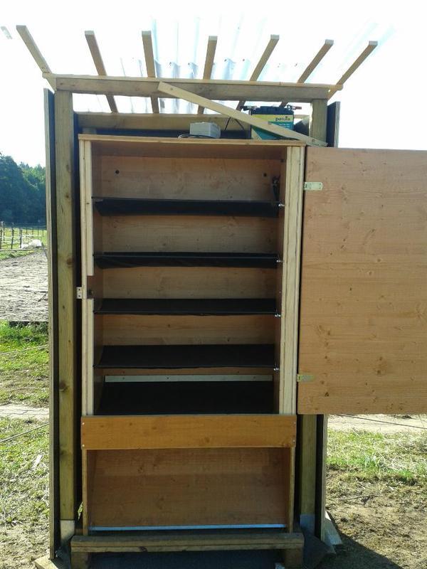 futterautomat f r heu heuautomat in ro tal zubeh r reit pferdesport kaufen und verkaufen. Black Bedroom Furniture Sets. Home Design Ideas