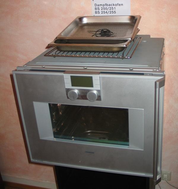gaggenau dampfbackofen bs 250110 in karlsruhe k chenherde grill mikrowelle kaufen und. Black Bedroom Furniture Sets. Home Design Ideas