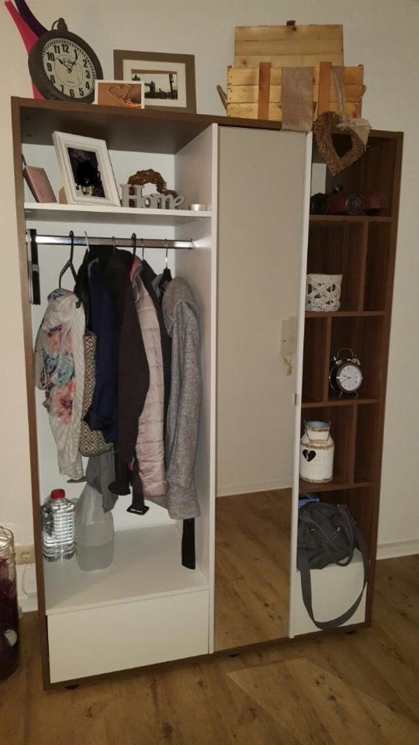 Garderobe dunkelbraun wei in koblenz garderobe for Garderobe quoka