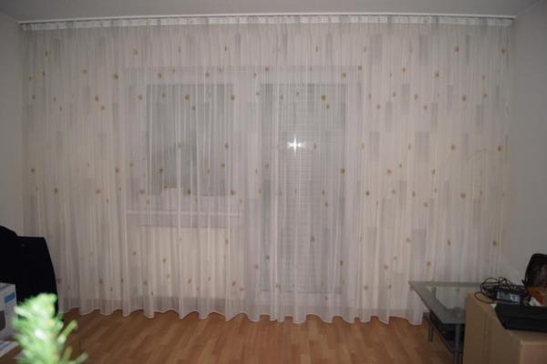 gardine fenster neu und gebraucht kaufen bei. Black Bedroom Furniture Sets. Home Design Ideas