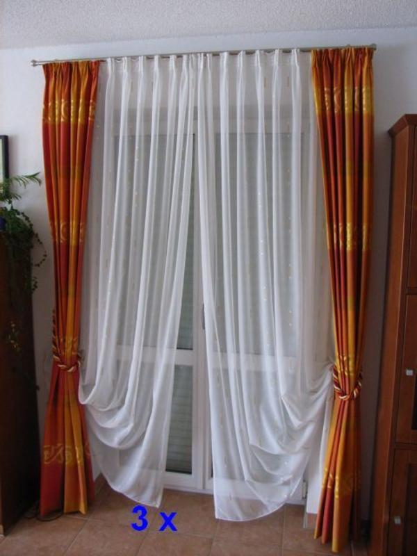 gardinen und schals in kirchdorf gardinen jalousien. Black Bedroom Furniture Sets. Home Design Ideas