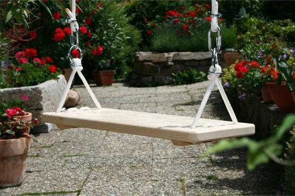 gartenschaukel f r erwachsene hochw handfertigung massivholz 80cm breite typ landhaus. Black Bedroom Furniture Sets. Home Design Ideas