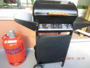 Gas grill mit